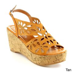 Shop for Nature Breeze Women's Elegant Wedge Sandal. Get free delivery On EVERYTHING* Overstock - Your Online Shoes Outlet Store! Shoe Deals, Comfortable Sandals, Zurich, Wedge Sandals, Amazing Women, Open Toe, Slip On, Breeze, Wedges