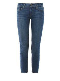 Paige Denim Verdugo Nevada cropped skinny jeans MATCHESFASHION.COM #MATCHESFASHION