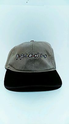 Vintage 90's tv show friends curved brim warner bros studios unisex mens adj