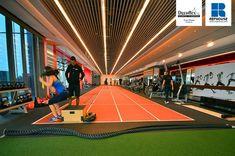 Decoflex Indoor Sprint Fitness Running Track @ Pure Fitness, Singapore