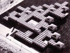 >>>ignacio_alonso_fúster: Freie Universität de Berlin_Candilis, Josic y Woods // Agadir_Koolhaas // Hospital Venecia_Le Corbusier // Orfanato Amsterdam_Aldo Van Eyck