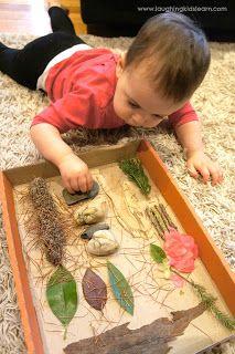 DIY Nature Sensory Board - Laughing Kids Learn