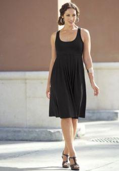Little Black Easy Dress from Monroe and Main. www.monroeandmain.com