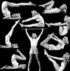 "Marilyn Monroe photographed by Ed Cronenweth publicity for ""Ladies of the Chorus"", 1948 Marilyn Monroe Fotos, Marylin Monroe, Yoga Fashion, Fashion Photo, Old Hollywood Movies, Hollywood Actresses, Norma Jeane, Great Movies, How To Do Yoga"