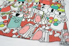 HEKTIK x YUBIA   Girl T-Shirt #yubia #barcelona #graffiti #streetart #streetwear #cans #spraycan #cute #urban #tshirt #artis Spray Can, Streetwear, Graffiti, Barcelona, Snoopy, Urban, Cute, Shirt, Fictional Characters