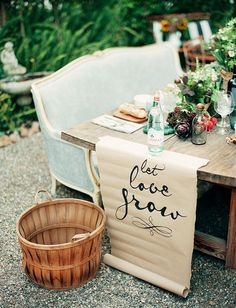 Farm-to-table wedding
