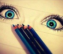 Inspiring image pop, ph, pencils, blue, drawing, eyes, blue eyes, draw #1074478 by nastty. Resolution: 500x384px. Find the image to your taste!