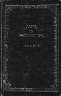 Alice In Wonderland This looks really old