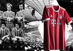 Bayern Munich 2017/18 adidas Home Kit