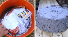 """Take junk mail, cardboard, shredded paper, etc. and make slow burning """"logs"""" for your stove. Simple process and free heat!!"""