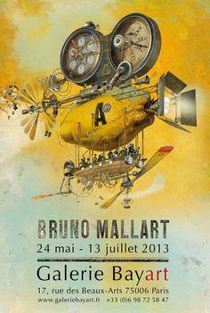 Bruno Mallart -France