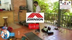 เปลี่ยนสายพานลู่วื่งไฟฟ้า JOHNSON 8.0T โทร.084-352-5714 หจก. มหาชัย ฟ... Horizon Fitness