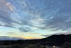 Taos sunset.