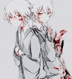 Anime boy -Twins