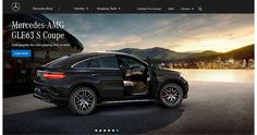 Sunset view and a Mercedes-AMG GLE 63 on Behance