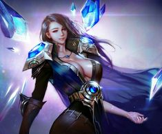 Tips for League of legends so hot League Of Legends Support, Lol League Of Legends, Starcraft, Fantasy Characters, Female Characters, League Of Memes, Character Art, Character Design, Seven Knight