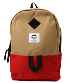 atmos select(アトモスセレクト)のPINE FORT BACK PACK(バックパック/リュック)|レッド