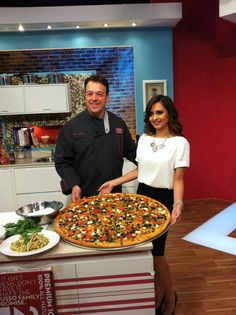 Chef Anthony is a pizza PIE-oneer!
