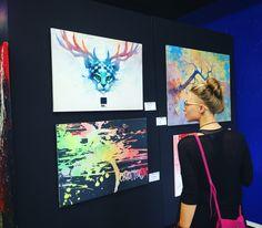 Abstract, Modern, Original, Oil, and Acrylic Painting. Sisters Art, Soul Sisters, Abstract Photos, Abstract Photography, Art Competitions, Acrylic Art, Art Fair, Bird Art, Good Music