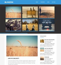This flat Blogger template comes with 5 predefined color variations, a recent posts slider, 2 post styles, a responsive layout, cross-browser compatibility, SEO-friendly code, and more.