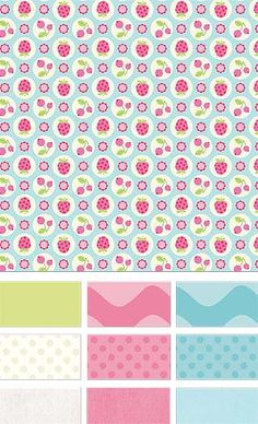 Flutterberry by Melly & Me for Riley Blake Designs—Subscribe to our newsletter at http://www.rileyblakedesigns.com/newsletter/