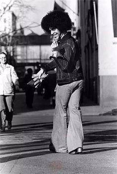 vintage everyday: Remembering Prince! Here Are Some Rare Shots of 19-Year-Old Prince Rogers Nelson Outside Minneapolis' Old Schmitt Music Headquarters in 1977
