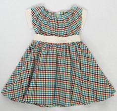 Little girl vintage inspired dress