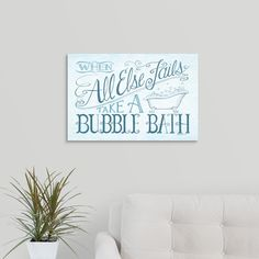 When All Else Fails By Deb Strain Canvas Wall Art Multi Color