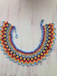 İlgili resim Seed Bead Jewelry, Beaded Jewelry, Beaded Necklace, Necklaces, Beaded Collar, Beaded Lace, Bead Loom Patterns, Beading Patterns, Beaded Crafts