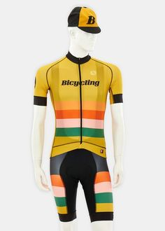 Men's Limited Edition Bicycling/House Industries Jersey by Giordana