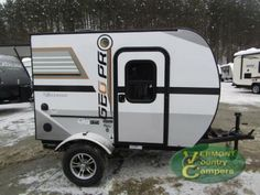 New 2017 Forest River RV Rockwood Geo Pro Travel Trailer at Vermont Country Campers Small Camper Trailers, Teardrop Camper Trailer, Off Road Camper Trailer, Small Trailer, Small Campers, Camper Caravan, Truck Camper, Travel Trailers, Tiny Camper