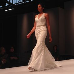Flaunt your curves in this sophisticated halter by Mori Lee
