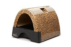 Kitty A Go Go Designer Cat Litter Box - Leopard Print *** Visit the image link more details. (This is an affiliate link and I receive a commission for the sales) #Pets