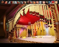 south indian wedding mandap decoration - Google Search