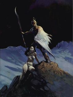 Frank Frazetta Paintings, Art, Pictures, Gallery, FF_049
