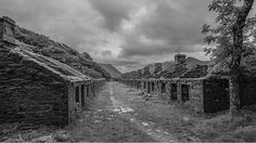 The ruins of Anglesey Barracks at Dinorwic Slate Quarry Anglesey, Snowdonia, Heritage Railway, Cymru, North Wales, Abandoned Places, Slate, Places To Visit, Welsh