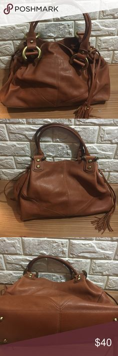 Marshall Fields leather bag Large calfskin satchel bag from Marshall Fields. This is a gorgeous bag! Excellent condition marshall fields Bags Satchels