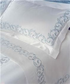 Marina embroidery sheets by DEA