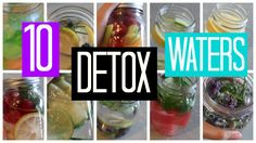 10 DIY Detox Waters to Cleanse Your Body!! - YouTube