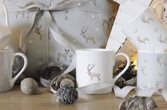 Stag mugs from Sophie Allport