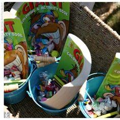 Kid-friendly Reception Ideas- Activity Bucket - Good for indoor weddings
