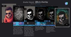 Brushes tutorial: Effects Overlay