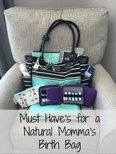 "If you are birthing in a birth center or at home. your ""hos-If you are birthing in a birth center or at home. your ""hospital bag"" is going … If you are birthing in a birth center or at home. your ""hospital bag"" is going … - Doterra, Birth Hospital Bag, Essential Oils For Labor, Labor Bag, Pregnancy Labor, Pregnancy Checklist, Pregnancy Advice, Water Birth, Baby Time"