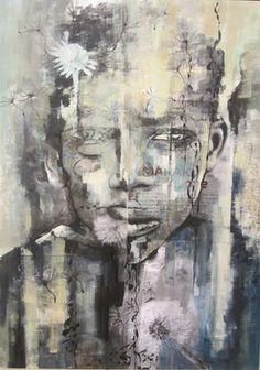 """Saatchi Art Artist sanaz vosough ghanbari; Collage, """"No title"""" #art"""