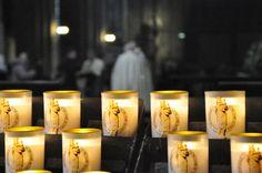Interior da Catedral de Notre-Dame. Paris. France.