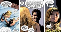 You're going to make me cry. Emma Frost & Scott Summers