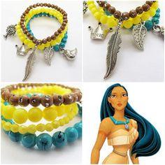 'Pocahontas' bracelet for your little girl! As pretty as princess Pocahontas! #kitzforkids