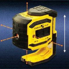 NEW -- STABILA®  #03160 LaserBob - 5 Point Layout  http://www.lineartools.net/product/03160.html