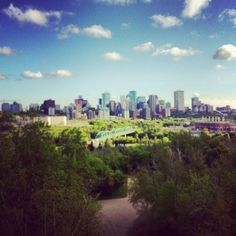 Edmonton under the summer sky!