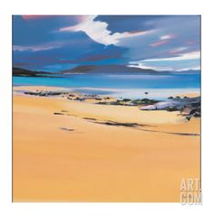 Niabost Sand, Harris Limited Edition by Pam Carter at Art.com